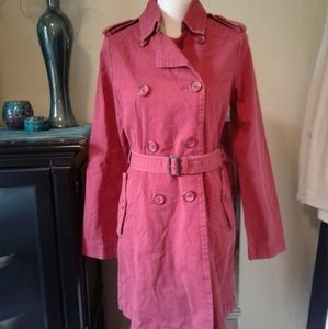 Vintage American Eagle Trench Coat